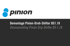 Part 006 - Pinion Demontage Dreh-Shifter