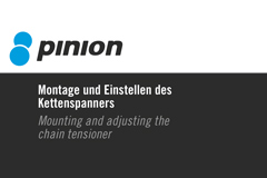 Part 008 - Pinion Montage und Einstellen Kettenspanner