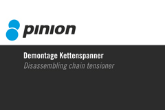 Part 009 - Pinion Demontage Kettenspanner